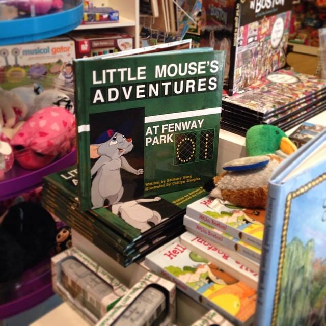Little Mouse's Adventures At Fenway Park In a book store